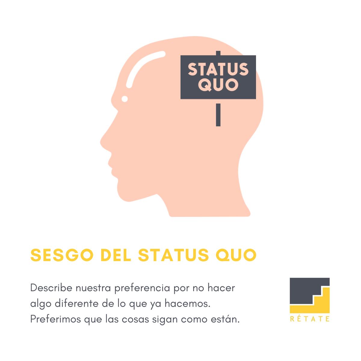 Sesgo del status quo