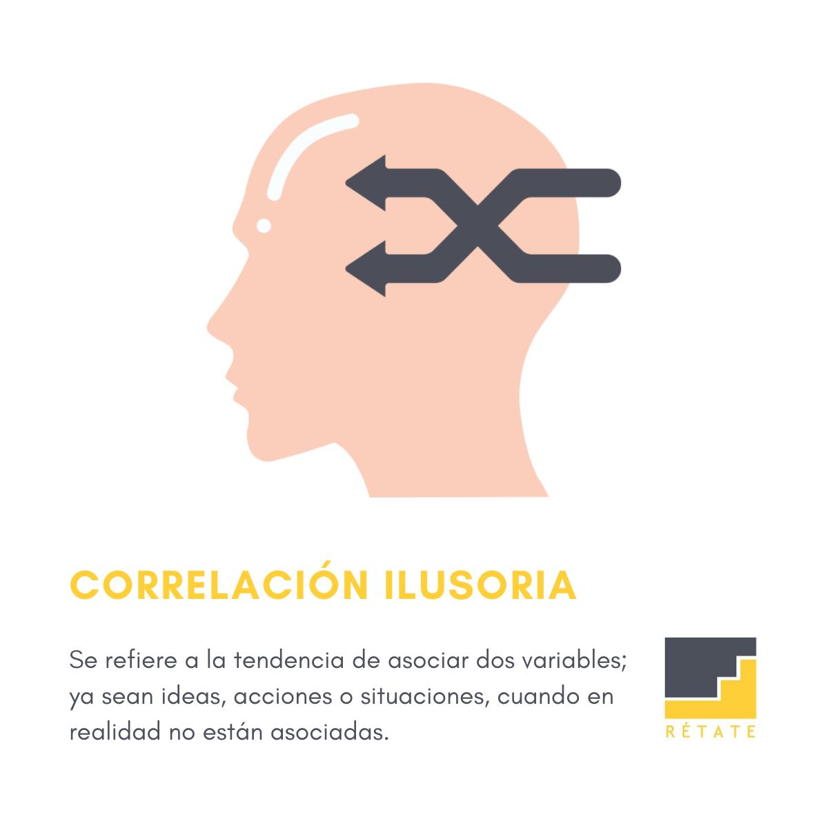 Correlación ilusoria