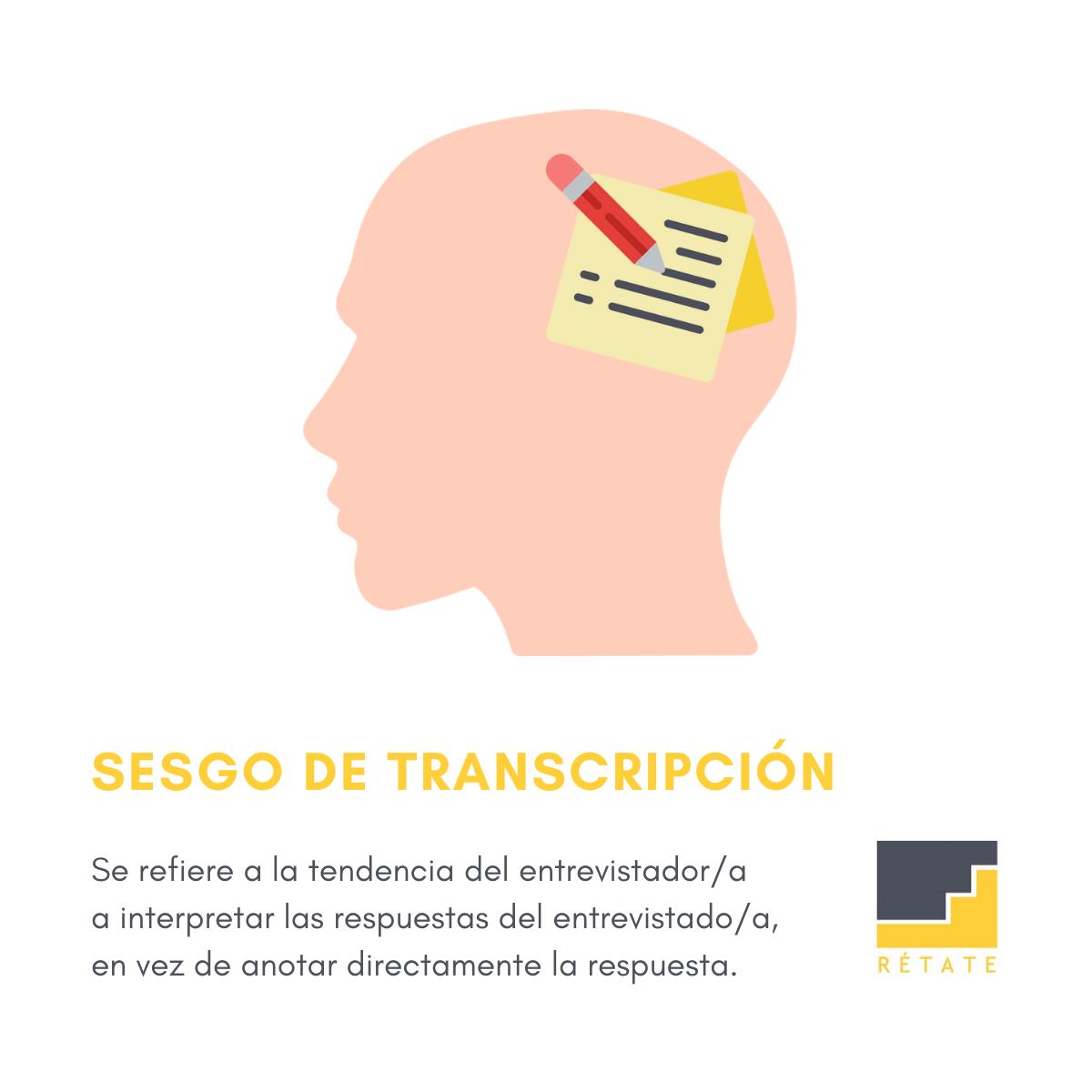 Sesgo de transcripción